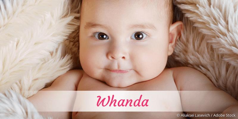 Name Whanda als Bild