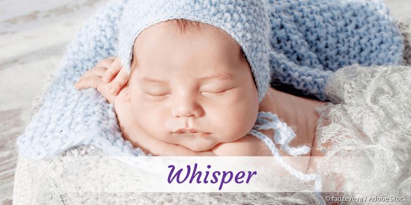 Name Whisper als Bild