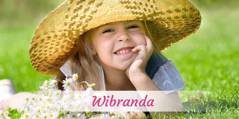 Name Wibranda als Bild