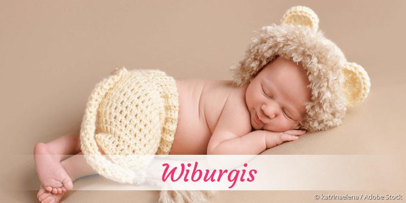 Name Wiburgis als Bild