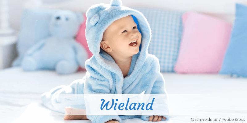 Name Wieland als Bild