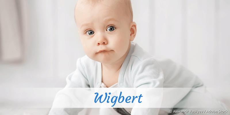 Name Wigbert als Bild