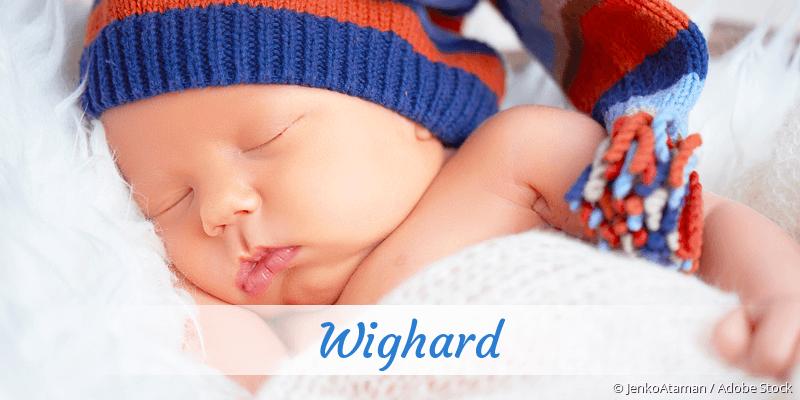 Name Wighard als Bild