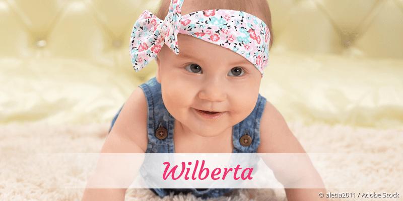 Name Wilberta als Bild