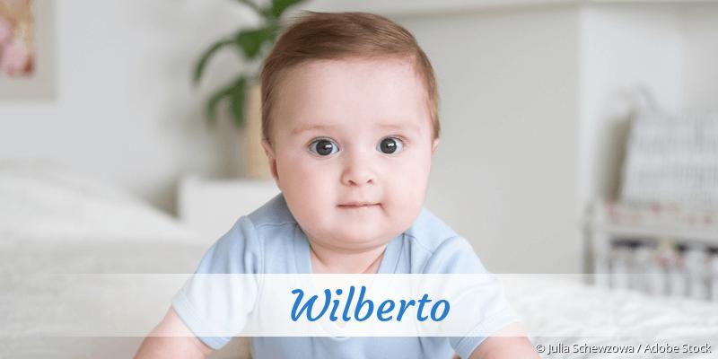 Name Wilberto als Bild