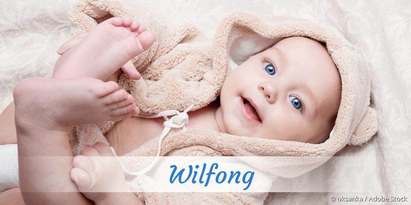 Name Wilfong als Bild