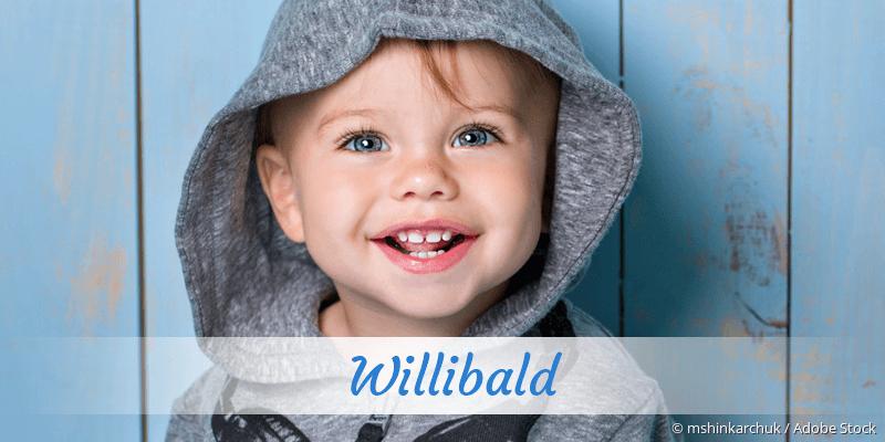 Name Willibald als Bild