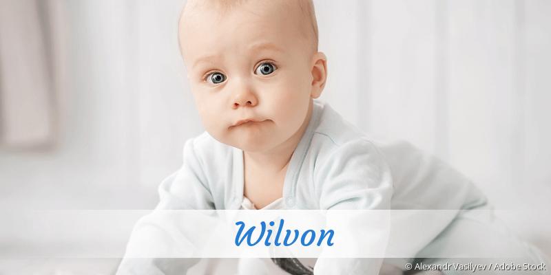 Name Wilvon als Bild