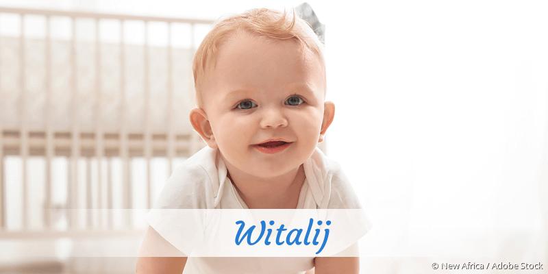 Name Witalij als Bild