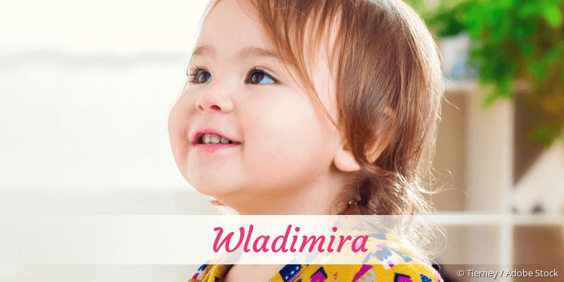 Name Wladimira als Bild