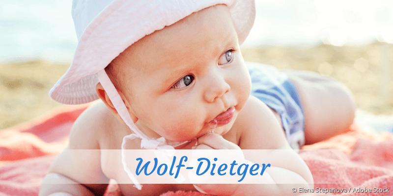 Name Wolf-Dietger als Bild