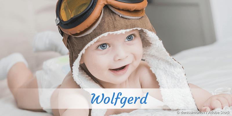 Name Wolfgerd als Bild