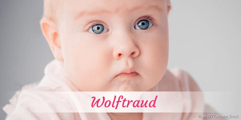 Name Wolftraud als Bild
