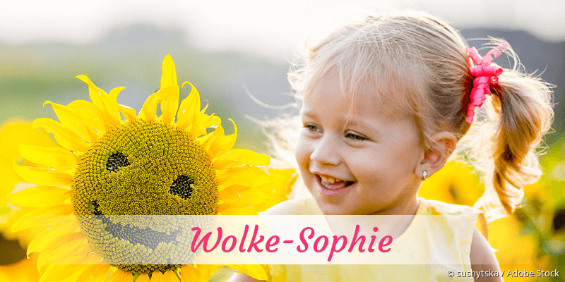 Name Wolke-Sophie als Bild