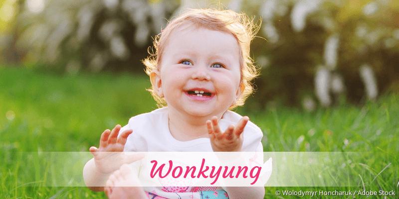 Name Wonkyung als Bild