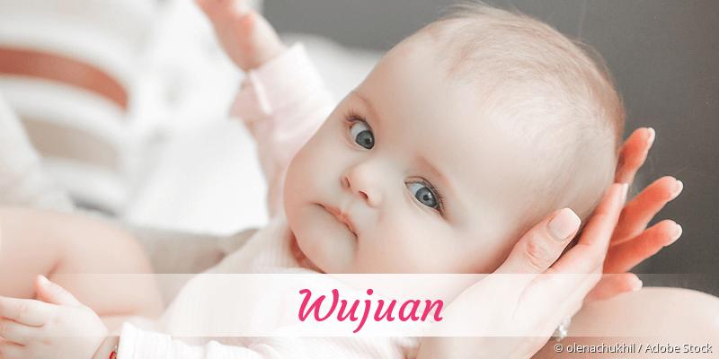 Name Wujuan als Bild