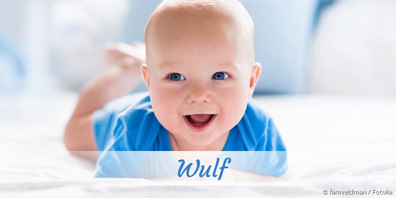 Name Wulf als Bild