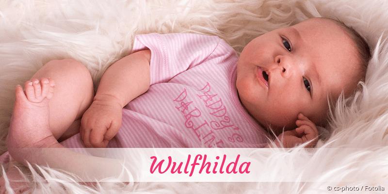 Name Wulfhilda als Bild