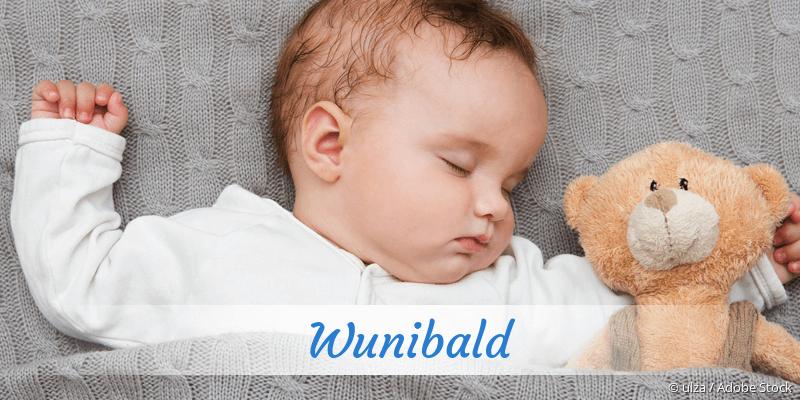 Name Wunibald als Bild