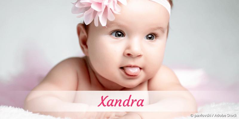 Name Xandra als Bild