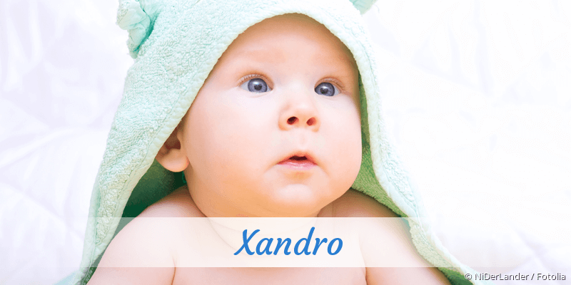 Name Xandro als Bild