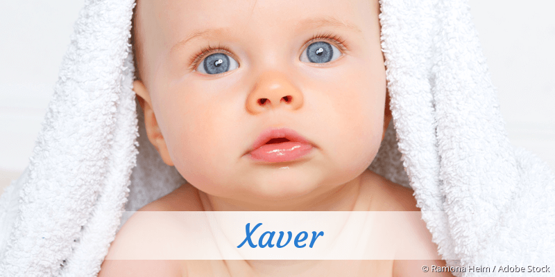 Name Xaver als Bild
