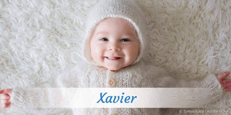 Name Xavier als Bild