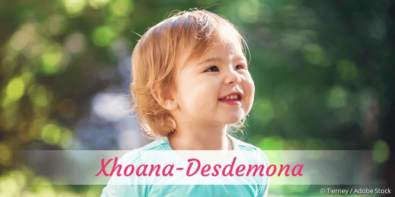 Name Xhoana-Desdemona als Bild