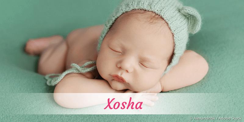 Name Xosha als Bild
