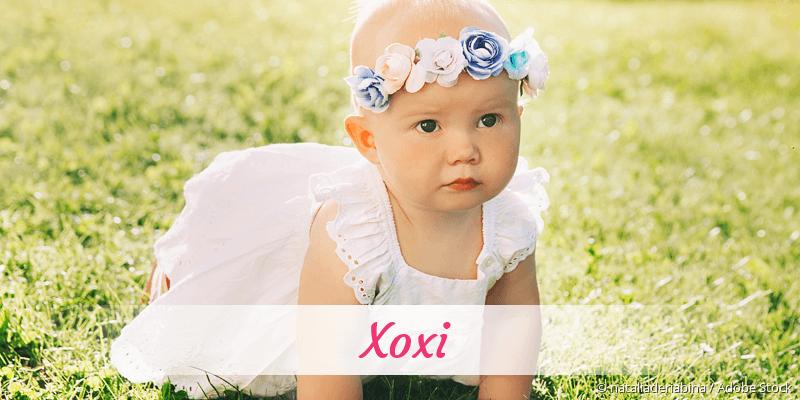 Name Xoxi als Bild