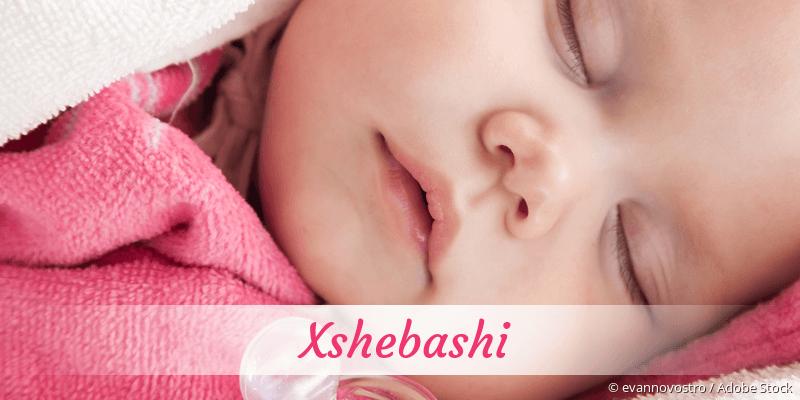 Name Xshebashi als Bild