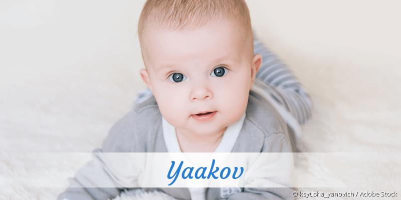 Name Yaakov als Bild