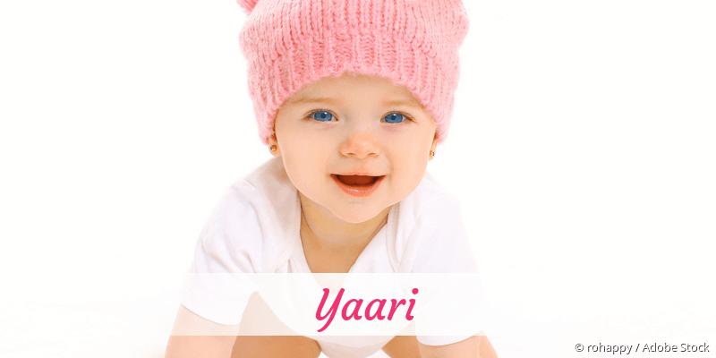 Name Yaari als Bild