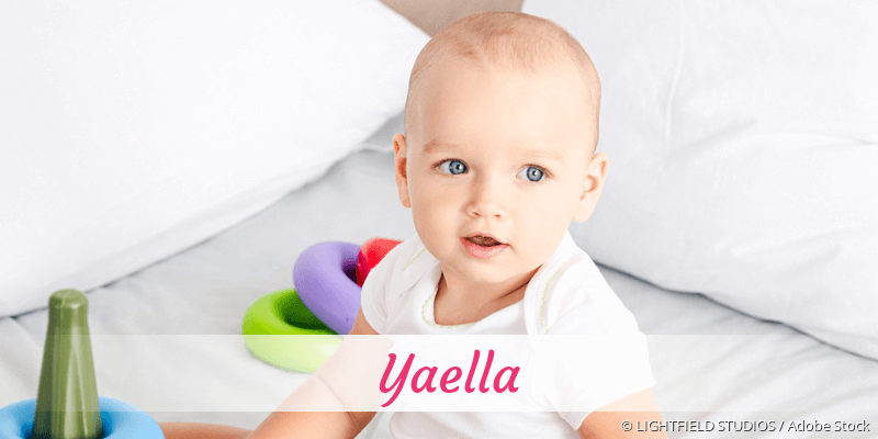 Name Yaella als Bild
