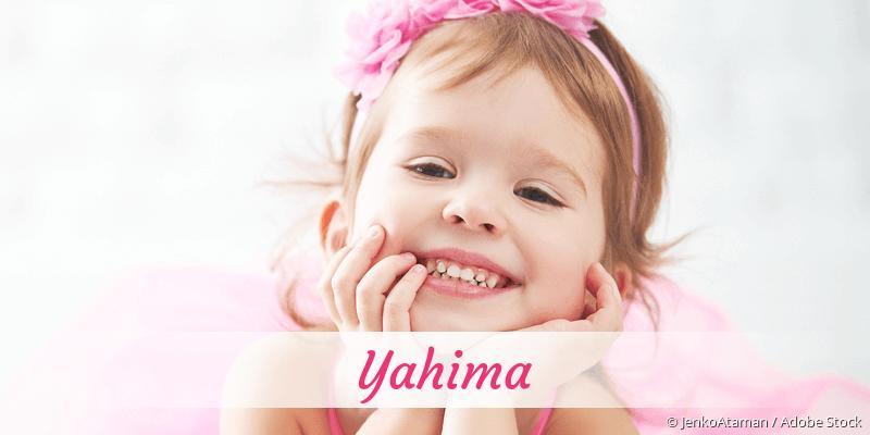 Name Yahima als Bild