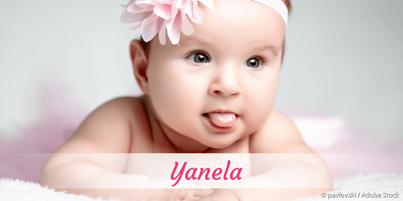 Name Yanela als Bild
