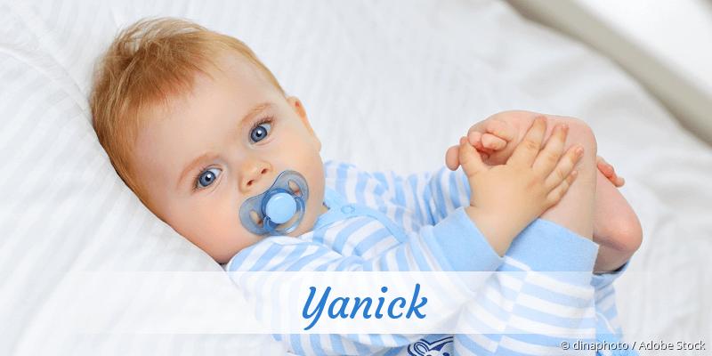 Name Yanick als Bild