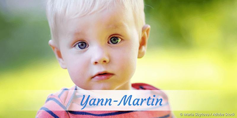 Name Yann-Martin als Bild