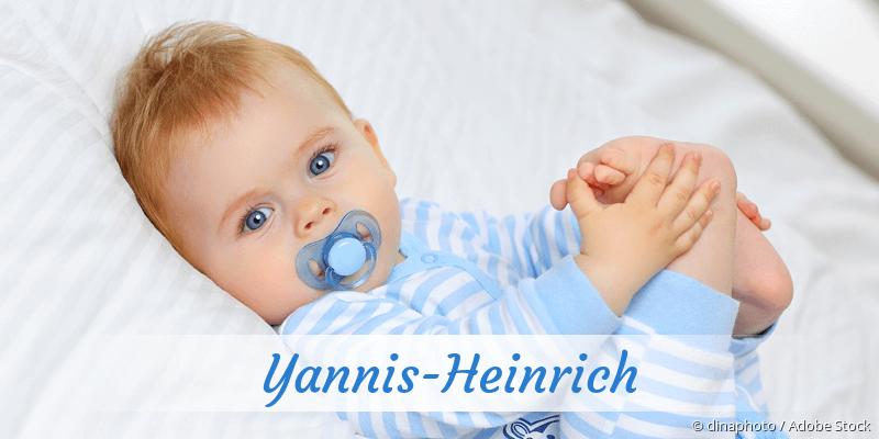 Name Yannis-Heinrich als Bild