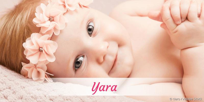 Name Yara als Bild