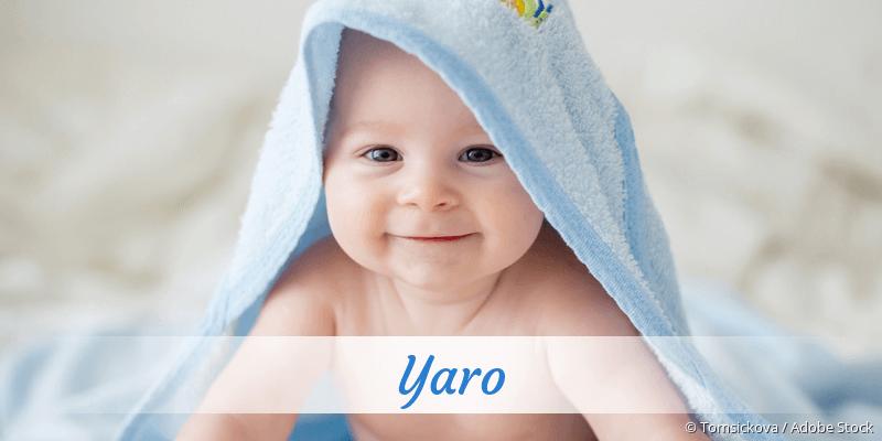 Name Yaro als Bild