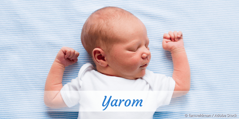 Name Yarom als Bild