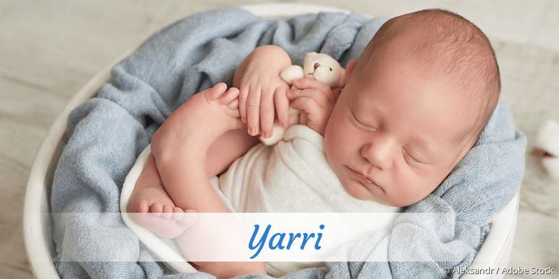 Name Yarri als Bild