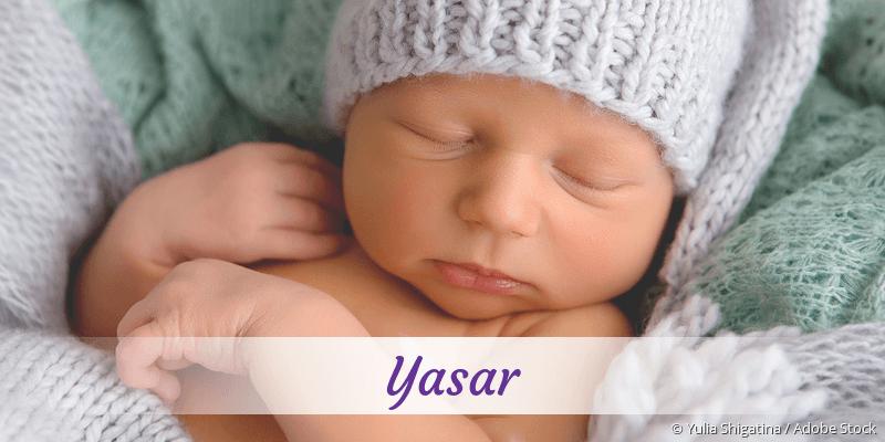 Name Yasar als Bild