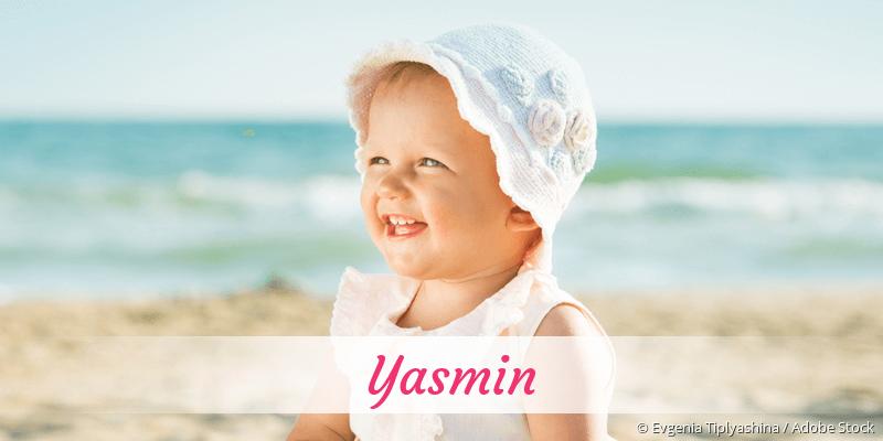 Name Yasmin als Bild