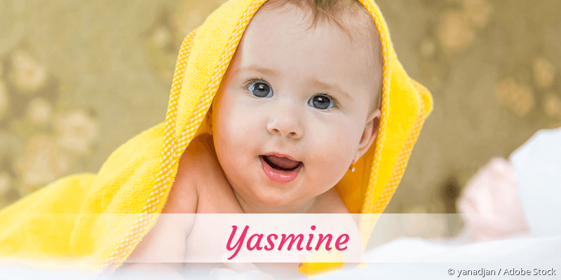 Name Yasmine als Bild