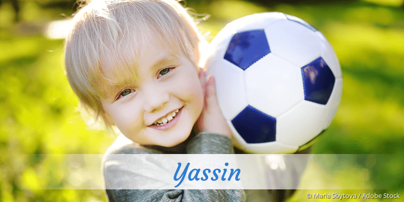 Name Yassin als Bild