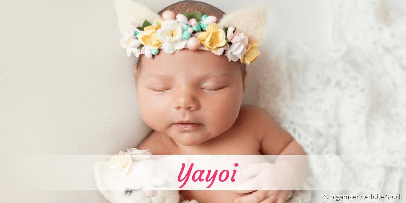 Name Yayoi als Bild