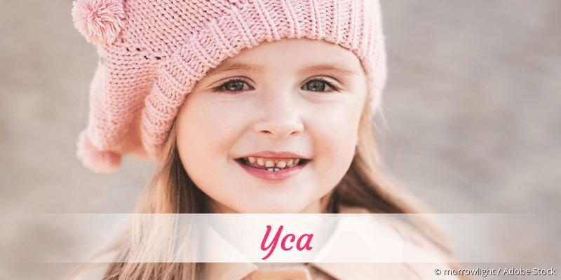 Name Yca als Bild
