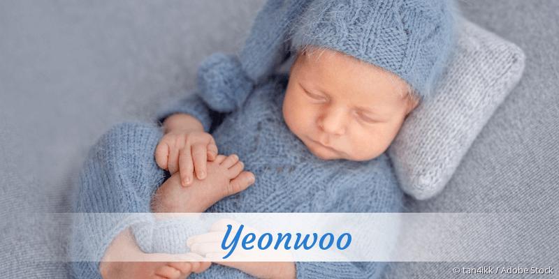 Name Yeonwoo als Bild